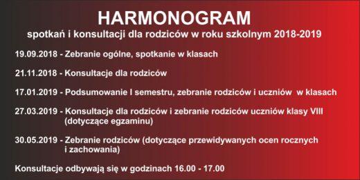 harmonogram 44