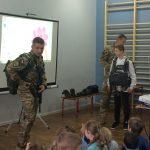 SZKOLENIE SPADOCHRONOWE przez żołnierzy z jednostki wojskowe NIL z Krakowa08