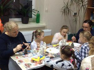 Warsztaty Świat Bozego Narodzenia SP Słotwina 201913
