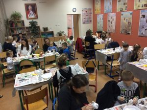 Warsztaty Świat Bozego Narodzenia SP Słotwina 201923