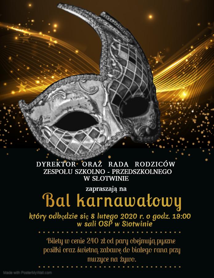 zaproszenie na bal