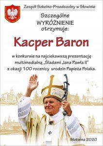 KACPER BARON