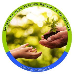 Natura to moja kultura - projekt eTwinning logo projektu