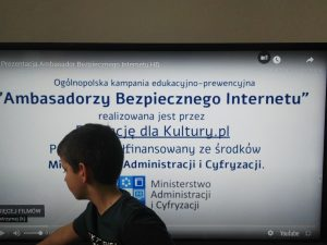 Pierwszaki bezpieczne w sieci. Dzień bezpiecznego internetu